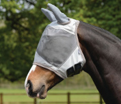 Masta Fly Mask With Ear Protection Fleece Edges Seams Uv Reflection & Protection