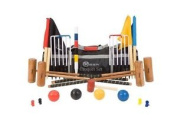 """The Pro Croquet Set With Nylon Bag - Contains 2 Sizes Of Mallet; 2 X 34"""" And 2 X"""