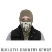 Emerson Airsoft Lightweight Skull Balaclava Green Em6634 Under Mask