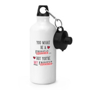 You Might Be A Kn-head Sports Drinks Water Bottle - Valentines Day Love Funny
