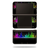 Skin Decal Wrap for Nintendo 3DS XL Original 2012-2014 Cover Keep The Beat