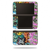 Skin Decal Wrap for Nintendo 3DS XL Original 2012-2014 Graffiti Wild Styles