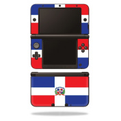 Skin Decal Wrap for Nintendo 3DS XL Original 2012-2014 Cover Dominican Flag