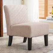 Christies Home Living Samantha Upholstered Armless Slipper Chair