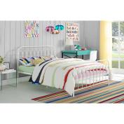 Novogratz Bright Pop Metal Bed, Multiple Sizes, Multiple Colours