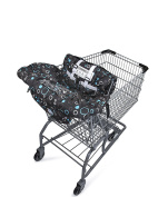 Premium Shopping Cart Cover & High Chair Cover, Universal Size, Harness System, Soft Comfort Cushioning, Protects Against Germs