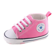 Baby Shoes Auxma Baby Canvas Sneaker Antiskid Soft Trainer Shoes Prewalker shoes for 3-18Month