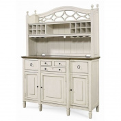 Beaumont Lane Buffet with Bar Hutch in Cotton