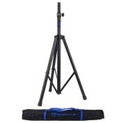 Rockville DJ PA Tripod Speaker Stand Hydraulic Air Auto Lift & Lowering + Bag