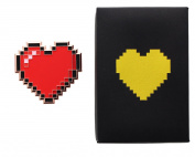 Legend of Zelda 8-Bit Heart Paperweight