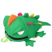 VENMO Cartoon Lizard Design Toddler Kids Girls Boys Cute School Book Bags Backpack For School & Travel, 17*14*25cm(L*W*H)