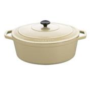 Cuisine A1717327 3.3l Cream Oval Dutch Oven
