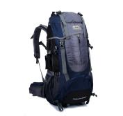 Skysper- Large 65 Litre Travel Hiking Camping Rucksack Backpack Holiday Luggage Bag