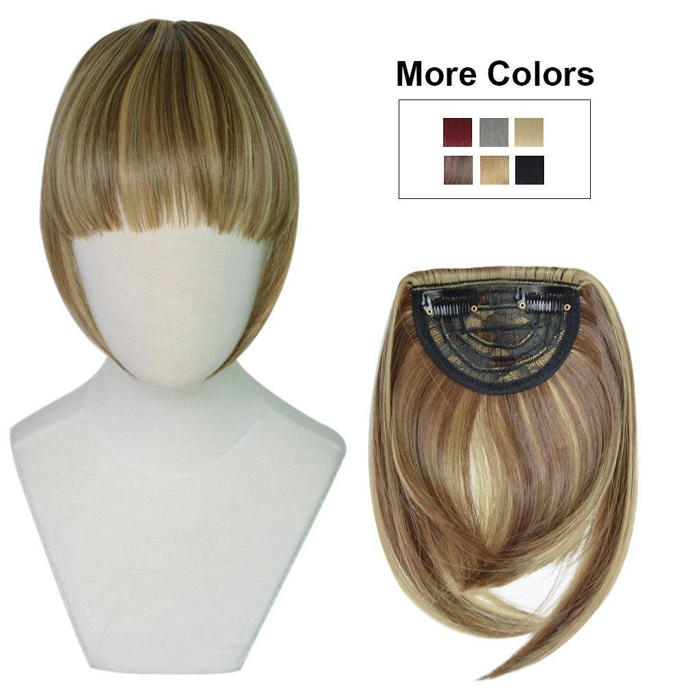 Reecho Fashion One Piece Clip In Hair Bangs Fringe Hair