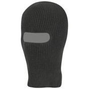 Army Tactical 1 Hole Warm Knitted Balaclava Paintball Hunting Fishing Ski Black
