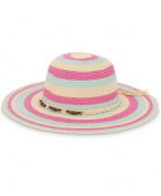 Urban Beach Ladies Beaded Sun Hat