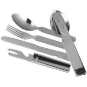 Helikon 4 Piece Kfs Cutlery Set Camping Hiking Survival Stainless Steel Fork
