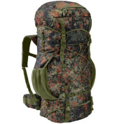 Brandit Aviator 65l Tactical Military Backpack Army Patrol Bergen Flecktarn Camo