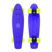 Xootz Kid's Retro Plastic Cruiser Skateboard Purple 60cm