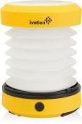 Ivation Led Camping Lantern Collapsible & Rainproof, Flashlight Torch Mini Lamp
