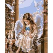 kixing(TM) Angel Girl Diamond Embroidery 5D Diamond DIY Painting Cross Stitch Crafts