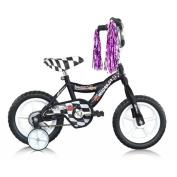 Micargi MBR12Y-B-BK 30cm . Boys BMX Bicycle, Black - 12 x 18cm x 70cm .