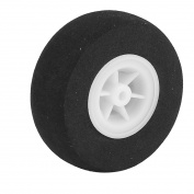 3.5mm Shaft Hole RC Plane Tail Tyre Light-Weight Sponge Whee 55mm Diameter