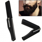 Baomabao Men Hairdressing Beauty Folding Beard And Beard Comb Beauty Tools