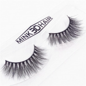 Staron Long Natural Black False Eyelashes Handmade 3D Lashes Makeup Fake Eye Lashes