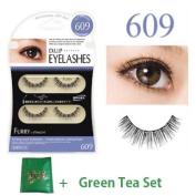 D.U.P False Eyelashes - Furry 609