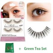 D.U.P False Eyelashes Brown Mix - Cute Eyes 916