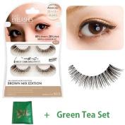 D.U.P False Eyelashes Brown Mix - Girly Eyes 915