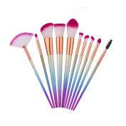 10Pcs Makeup Brushes Fantasy Set Foundation Powder Eyeshadow Kits Beauty Tools Cosmetic Set