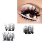 Celendi NEW Ultra-thin 0.4mm Magnetic Eye Lashes 3D Reusable False Magnet Eyelashes Extension for Beauty