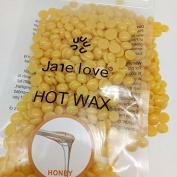 Bingirl 50g Beauty Hair Removal Hard Wax Beans,Multi Depilatory Painless Hair Removal Free-paper Granules Hot Film Wax Bead for Face Underarms Arm Leg Honey
