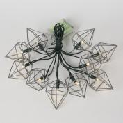 Metal Prism String Lights
