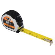 KESON 4.9m Steel SAE Engineers Tape Measure, Black/Chrome PG1016