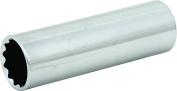 Mintcraft MT6528985 Deep Socket, 1/2 in, 24 mm, 12 Point