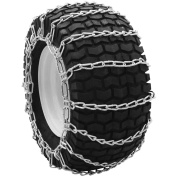 Snowblower and Lawn Tractor Tyre Chains, 16X6.50X8, 2 Link Spacing