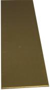 K & S 244 Metal Strip, 0.08cm T, 30cm L x 5.1cm W, Brass