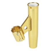 31280 Lee's Clamp-On Rod Holder - Gold Aluminium - Fits 4.8cm O.D. Pipe