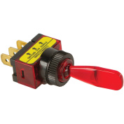 Battery Doctor 20500 On/Off Illuminated 20-Amp Toggle Switch, Red