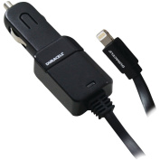 Duracell Pro323 2.1A Car Charger with Lightning Cable