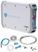 Rockville RXM-T1 1500 Watt Peak/750w RMS Marine/Boat 2 Channel Amplifier+Amp Kit
