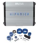 Hifonics Brutus BRX316.4 320 Watt RMS 4-Channel Car Amplifier Class A/B+Amp Kit