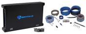 Rockville dB14 4000 Watt/2000w RMS Mono Class D 2Ohm Car Audio Amplifier+Amp Kit