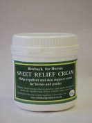 Biteback Horse Sweet Relief™ Sweet Itch Midge Repellent, Skin Support Cream 500g