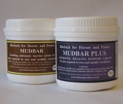 Biteback Horse Mudbar™ Duo For Healing And Supporting Skin, Mud Fever, 2 X 500g
