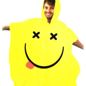 Waterproof Yellow Rave Poncho