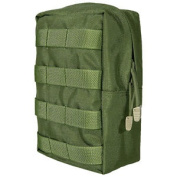 Flyye Tactical Vertical Accessories Pouch Utility Pocket Molle System Olive Drab